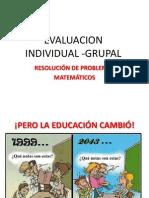 Evaluacion Individual -Grupal