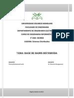 Chona Muhammad SD DIURNO Bases de Dados Distribuidas