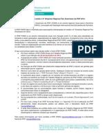 [IPSF PARO] 2nd Call for host to the 8th PARS - Português