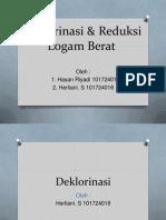 Herliani - Deklorinasi