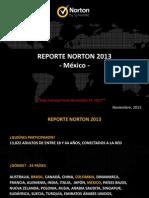 2013 Reporte Norton Press Deck MEXICO