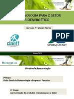 Apresentacao Completa BioLogicus Claeff Etanol 3 Geracao 2013