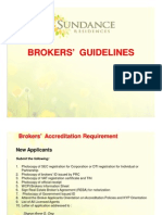 Brokers Guidelines