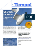 Tempo! – From Character to Vision