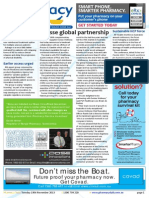 Pharmacy Daily for Tue 19 Nov 2013 - Swisse global partnership, DDS targets men\'s skincare, New MS tablet on PBS, Guild Update and much more