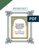 (14) Dosa Melupakan Ayat Al-Quran [Sani] PDF