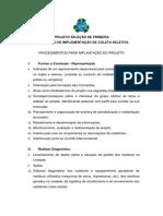 PROJETO SELEÇÃO DE PRIMEIRA