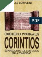 Bortolini, Jose - Como Leer La Carta 1 a Los Corintios
