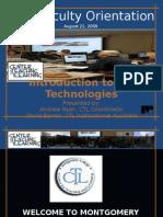 Technologies at MC Presentation