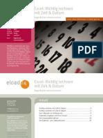 Excel - Richtig Rechnen Mit Zeit & Datum