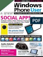 Windows Phone User Magazin - September Oktober 2013