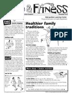MLC PE and Health Newsletter - Nov. 2013