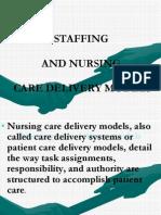 Manajemen Kep_materi Staffing and Nursing Care Delivery Models(1)