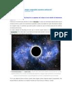 ¿Un hiper agujero negro engendró nuestro universo