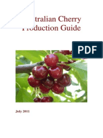 Australian Cherry Production Guide