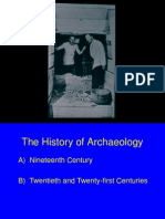 lecture 2pf - history of archaeology 1