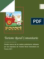 Medios Publicitarios Utilizados Por Las Empresas de Turismo Rural Comunitario de Pococi