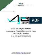 Arquivos Apostila Formacao Docente Educacao Infantil