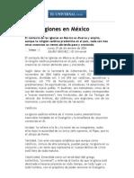 Las religiones en México