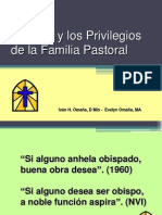 El Gozo y Los Privilegios de La Familia Pastoral