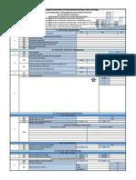 Formulario para revisión de Estudios Hidrosanitarios