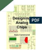 Designing Analog Chips-Hans Camenzind
