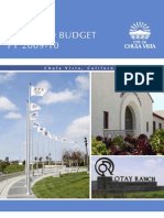City of Chula Vista - 2010 Proposed Budget