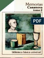 Casanova, Giacomo - Memorias - Tomo 2