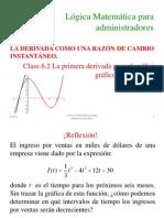 2.5_La_primera Derivada Para El Analisis Grafico