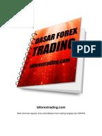 Dasar Belajar Forex Trading Idforextrading