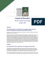 Gospel of Barnabas (Read Chapter 39)