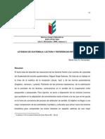 Leyendas de  Guatemala (artículo)