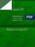Michael Kozza Xinyu Chen Shannon Frick