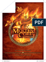 Wow TCG 1 Heroes of Azeroth Block - Molten Core Raid Rulebook 2007