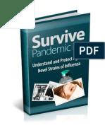 Survive Pandemic Flu - Pandemic Influenza & Pandemic Flu Preparedness