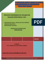 59413765 Proceso Enfermero de Dialisis Peritoneal Diabetes e Hipertencion Arterial