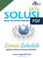 Brosur Simas-Sekolah (Sistem Informasi Sekolah)