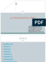 LA FAUNA EN EL PERU