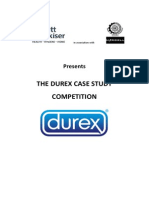 RB Durex Case Study Competition Source Material
