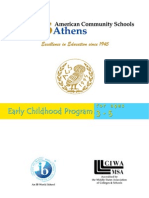 ACS Early Childhood Handbook 2009-10