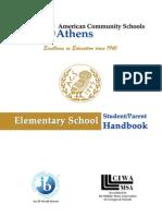 ACS Elementary Handbook 2009-10