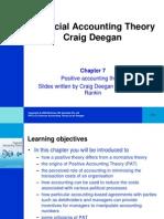 Financial Accounting Theory Craig Deegan Chapter 7
