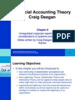 Financial Accounting Theory Craig Deegan Chapter 8