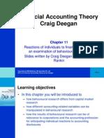 Financial Accounting Theory Craig Deegan Chapter 11
