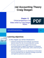 Financial Accounting Theory Craig Deegan Chapter 12