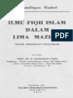 Ilmu Fikih Dalam Lima Mazhab