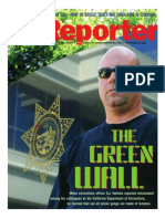 The Green Wall - Story and Photos by Stephen James Independent Investigative Journalism & Photography - VC Reporter - Ventura County Weekly - California Department of Corrections whistleblower D.J. Vodicka and his litigation against the CDC.