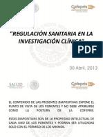 Foro Investigacion 30 Abril 2013