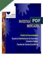 Investigacion de Mercado s