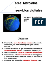 Comercio Electronico Mercados Digitales y Bienes Digitales 2013